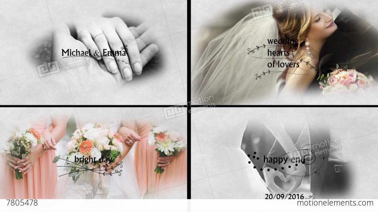 wedding slideshow after effects templates 7805478. Black Bedroom Furniture Sets. Home Design Ideas