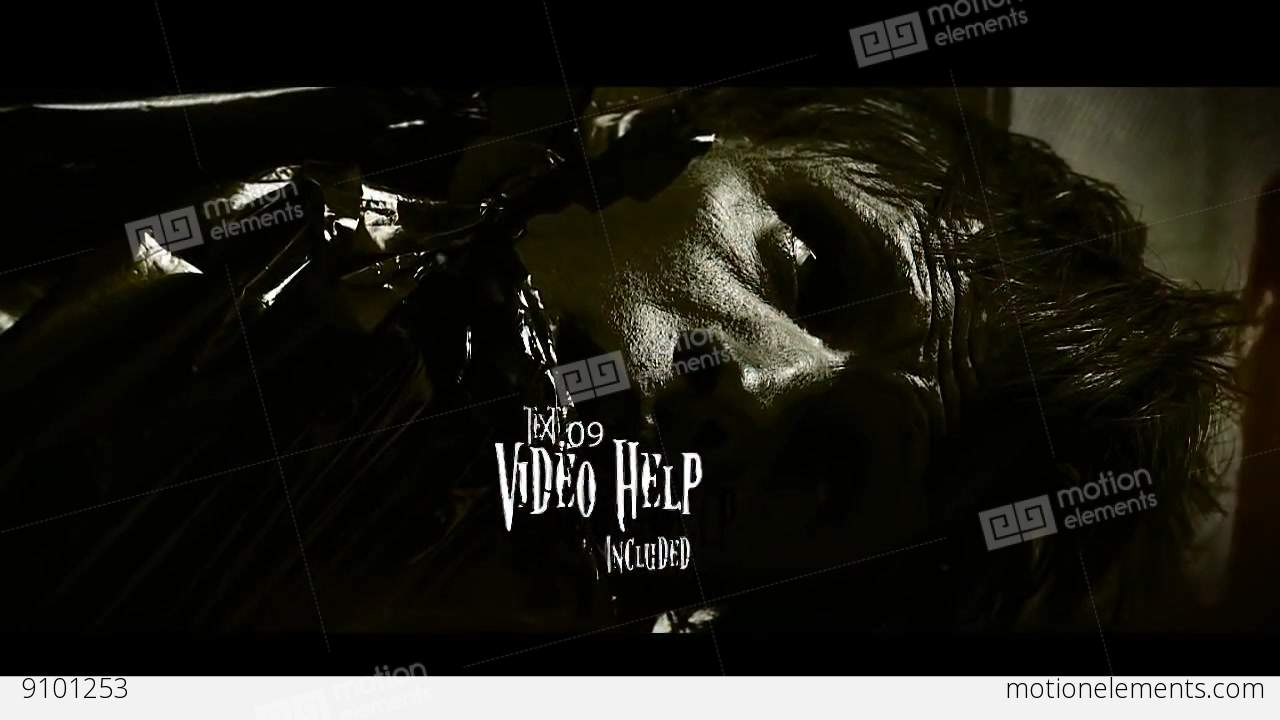 Free Horror After Effects Templates Horror Presentation