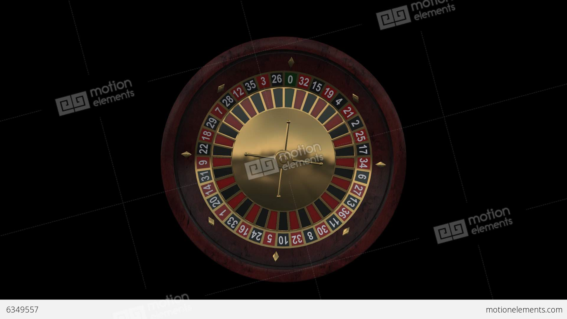 what size is a casino roulette wheel