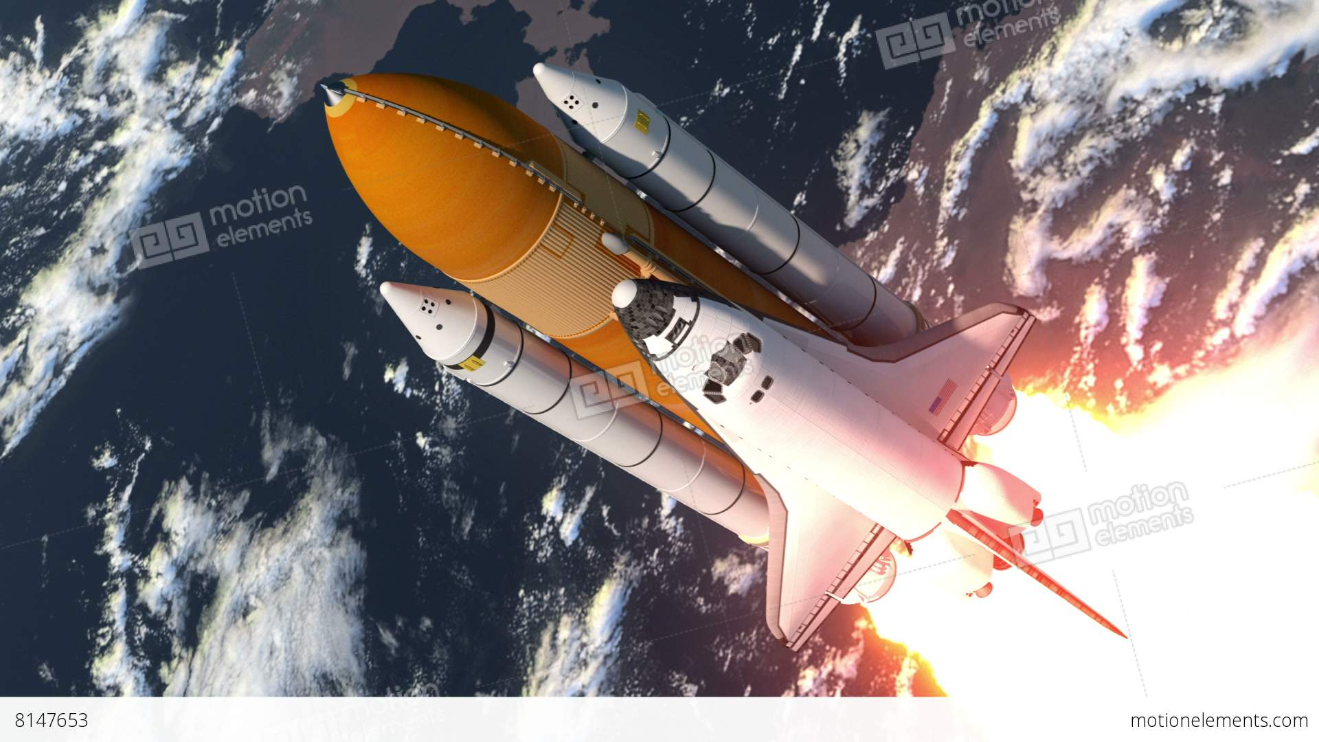space shuttle animation - photo #24