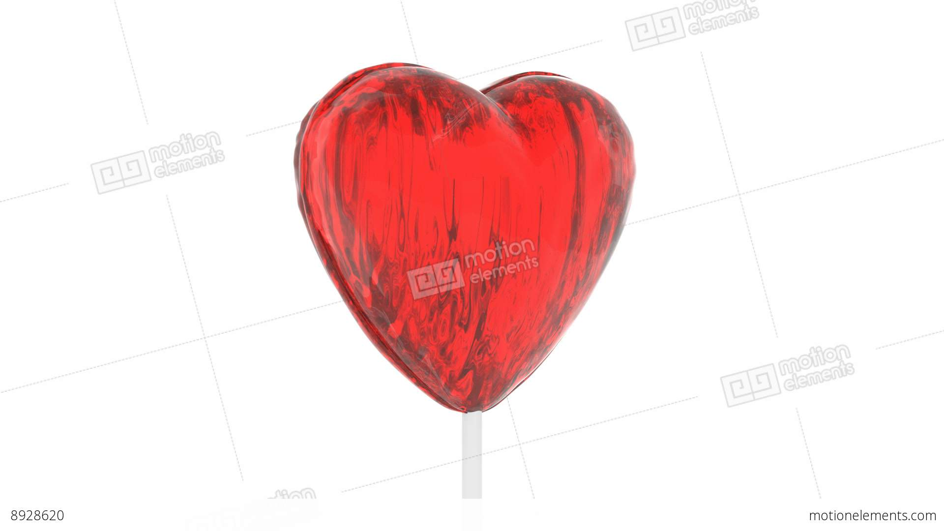 Heart Shape Lollipop Stock Animation | 8928620 for Lollipop Animated  174mzq
