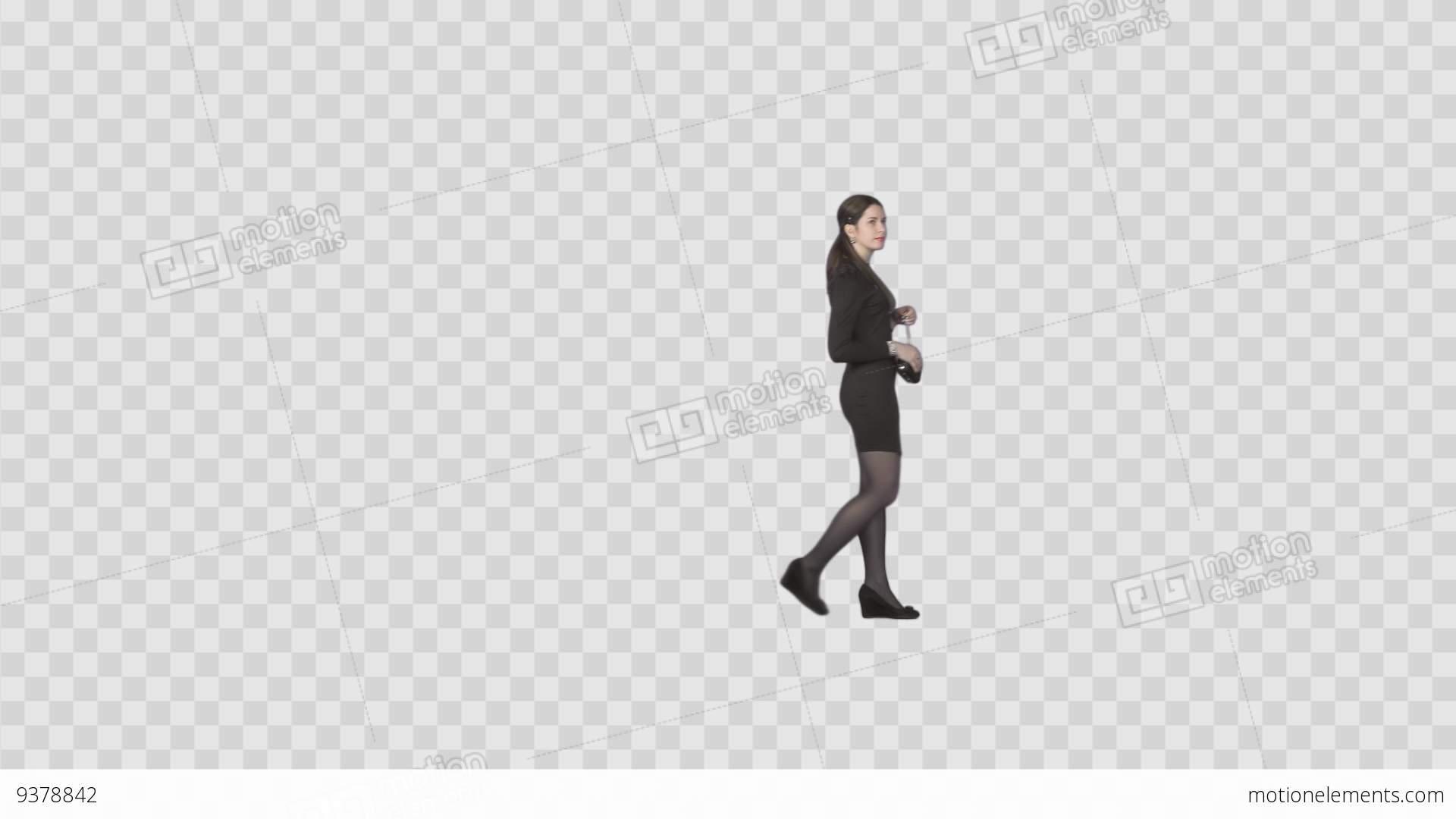 House Design Free App Elegant Slender Girl Slowly Walking On Transparent