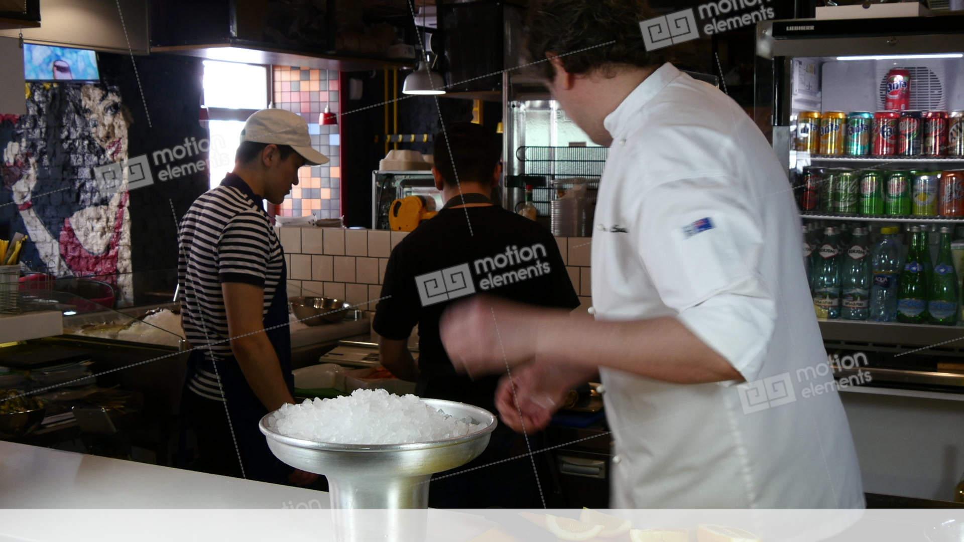 Restaurant Kitchen Sound Effects