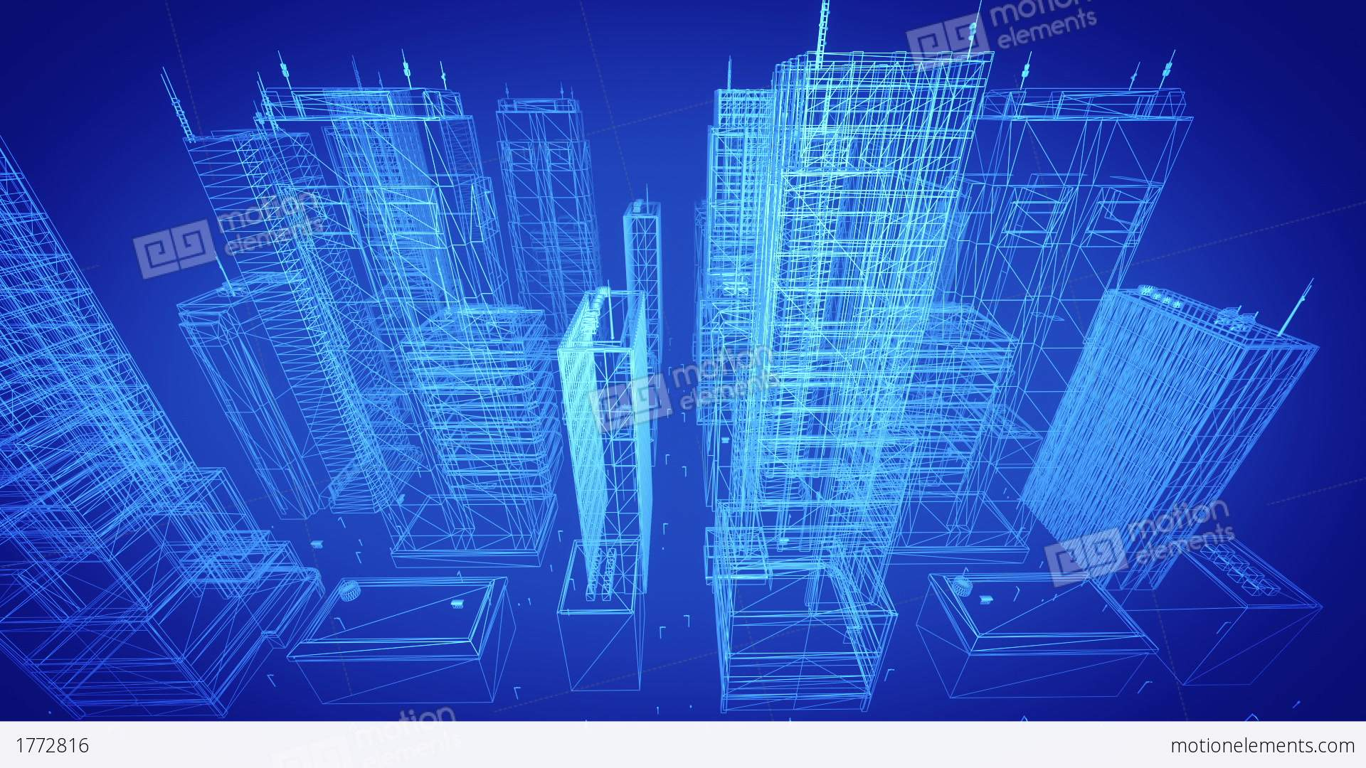 Architectural blueprint of contemporary buildings blue tint stock architectural blueprint of contemporary buildings blue tint stock video footage malvernweather Choice Image