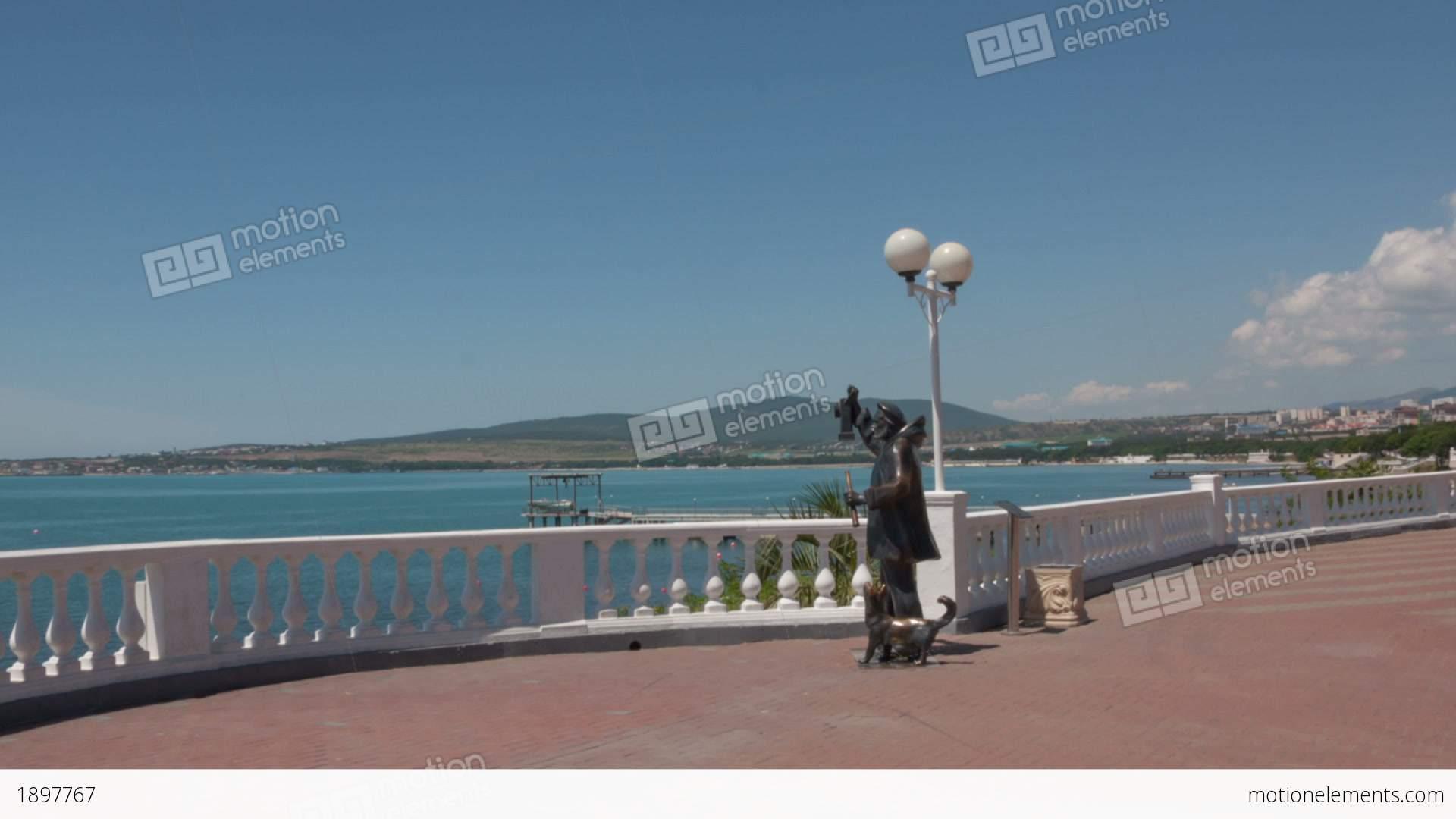 Gelendzhik Russia  city photos : Gelendzhik City Walk Hyperlapse Stock Video Footage | Royalty Free HD ...