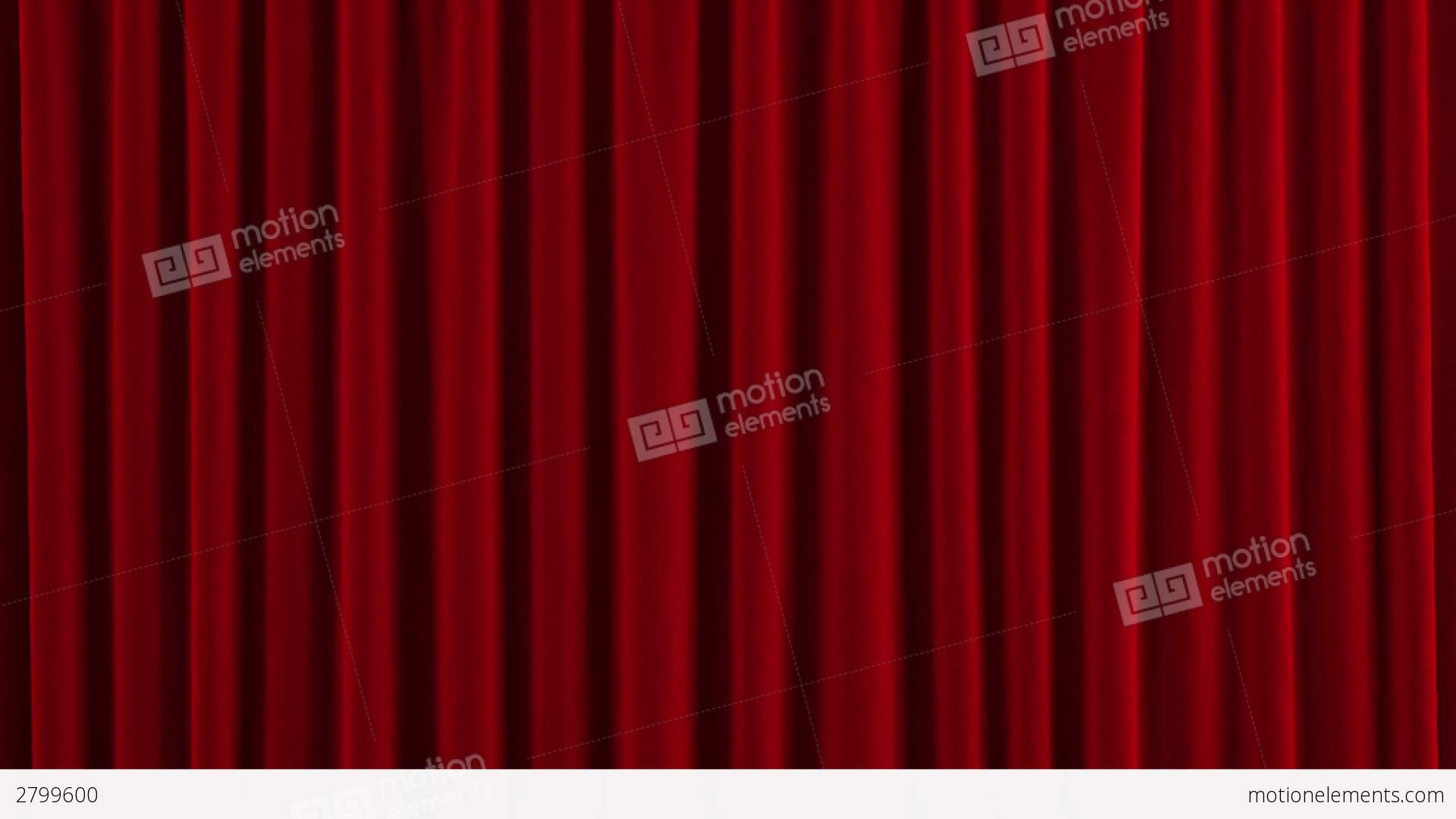Stage curtains animation - Red Austrian Stage Curtain Go Up And Down Stock Video Footage