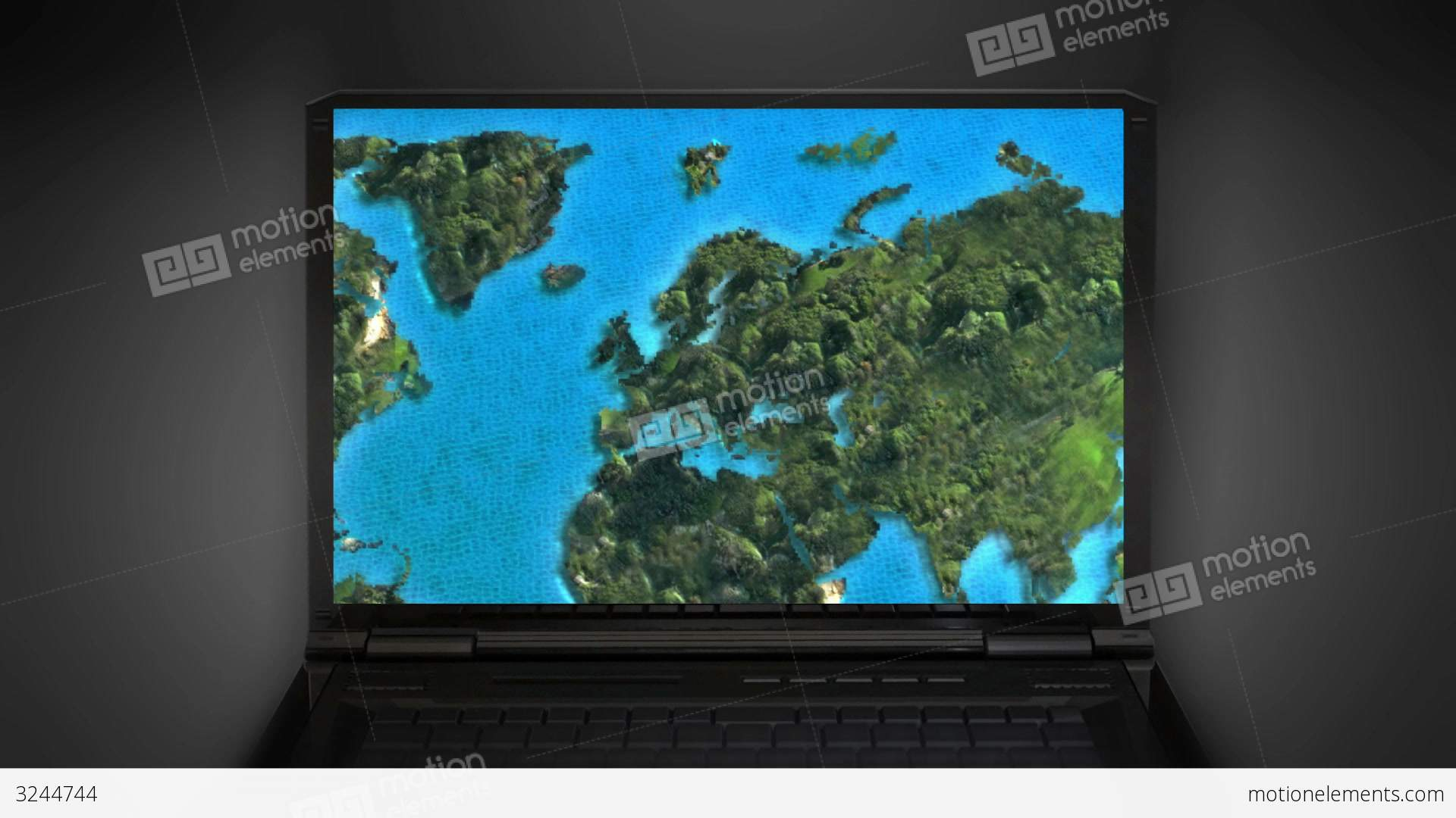 Computer world map moving in internet stock animation 3244744 computer world map moving in internet stock video footage gumiabroncs Gallery