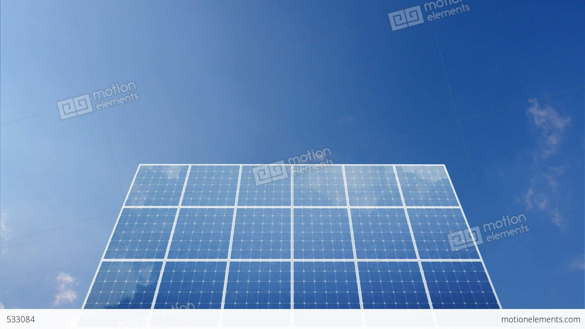 Solar Panel C1c Hd Stock Animation 533084