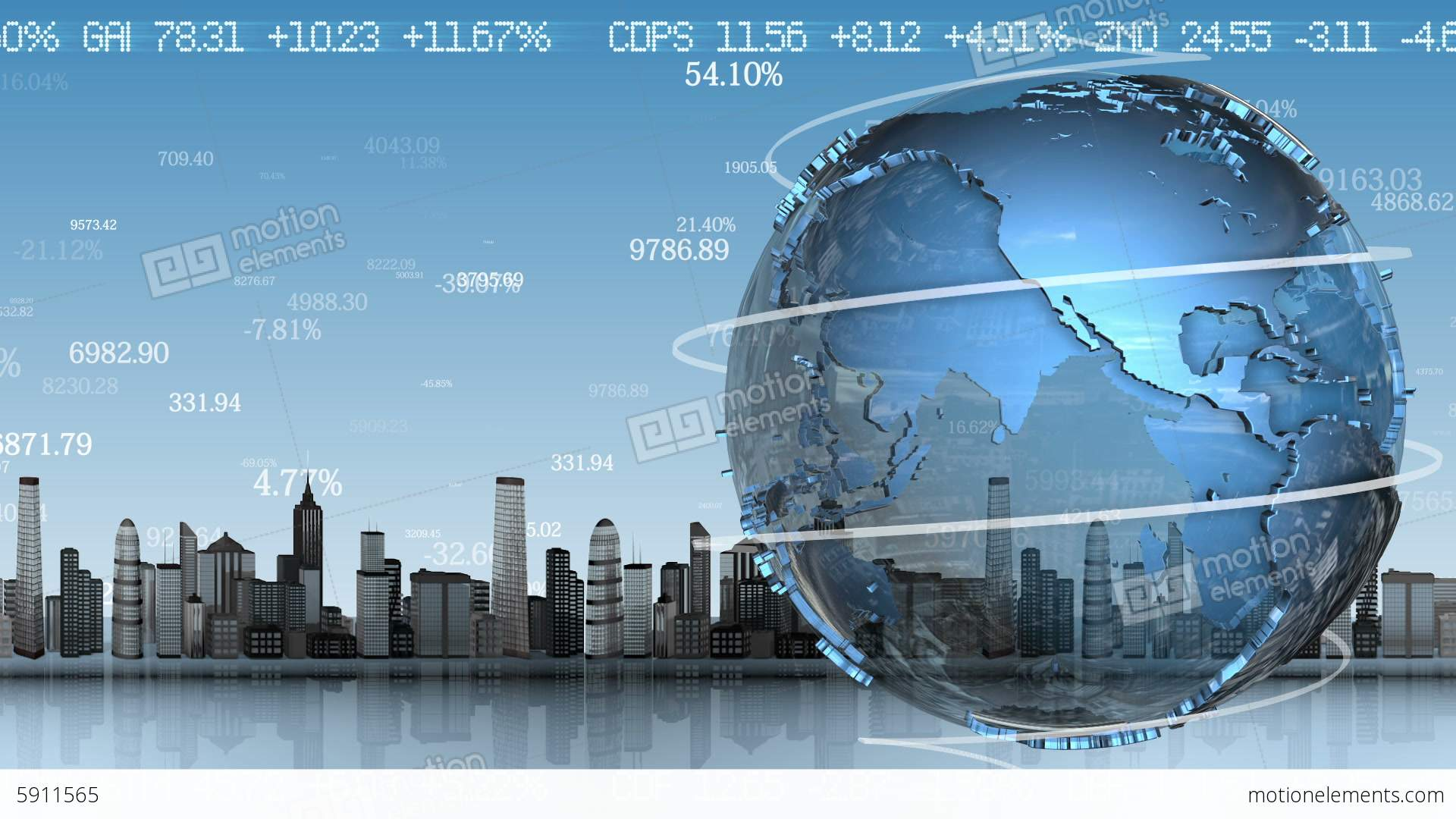 Background image rotate 90 - Business Background With Rotating Planet Loop Ani Stock Video Footage