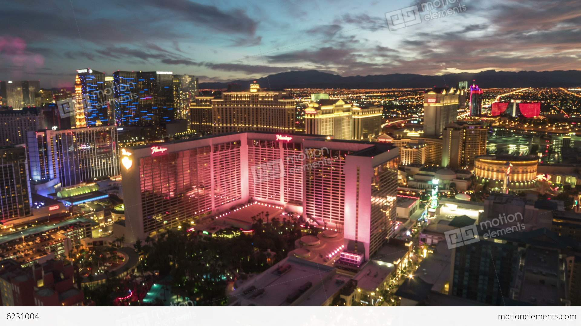 the linq high roller las vegas time lapse loop stock video footage 6231004. Black Bedroom Furniture Sets. Home Design Ideas