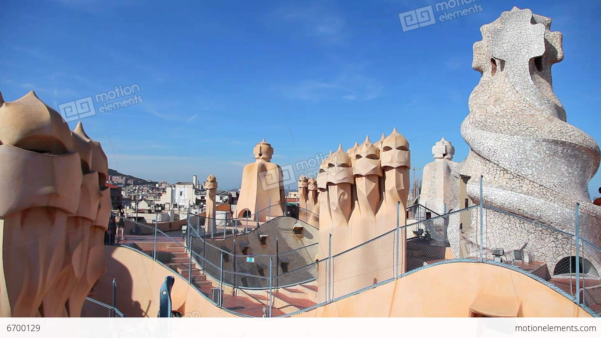In Honor Of The 'Patron Saint Of Architecture,' Here's a ... |Casa Mila Roof