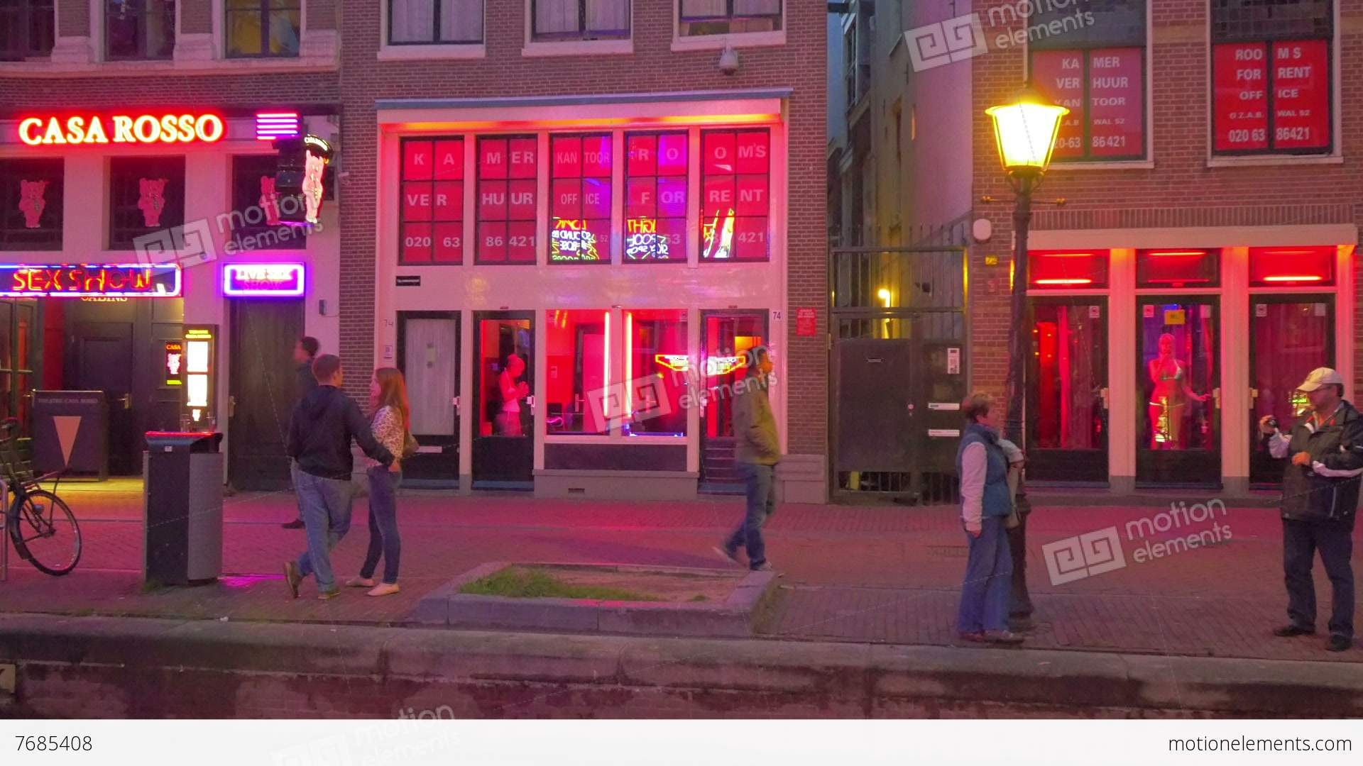 Etymology of Red Light District