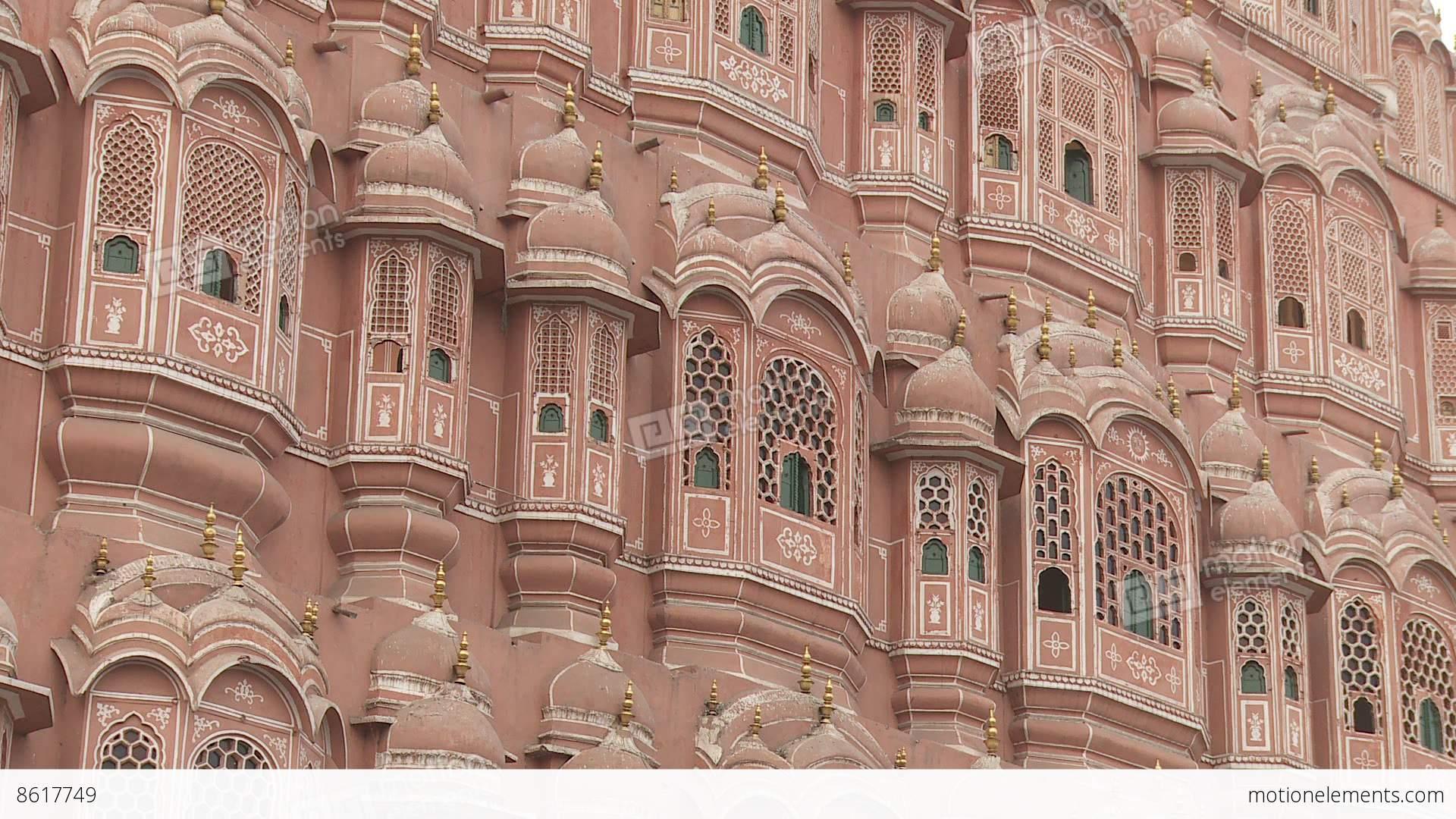 Hawa Mahal Hd Images: Hawa Mahal Jaipur India Stock Video Footage