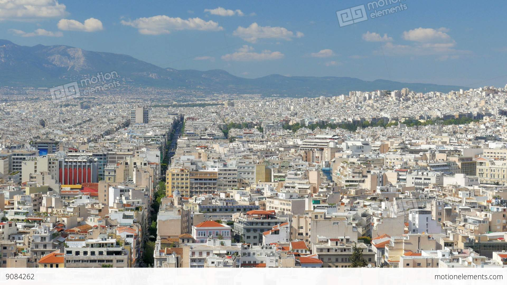Apartments In Downtown Athens, Greece, 4k Stock video ...