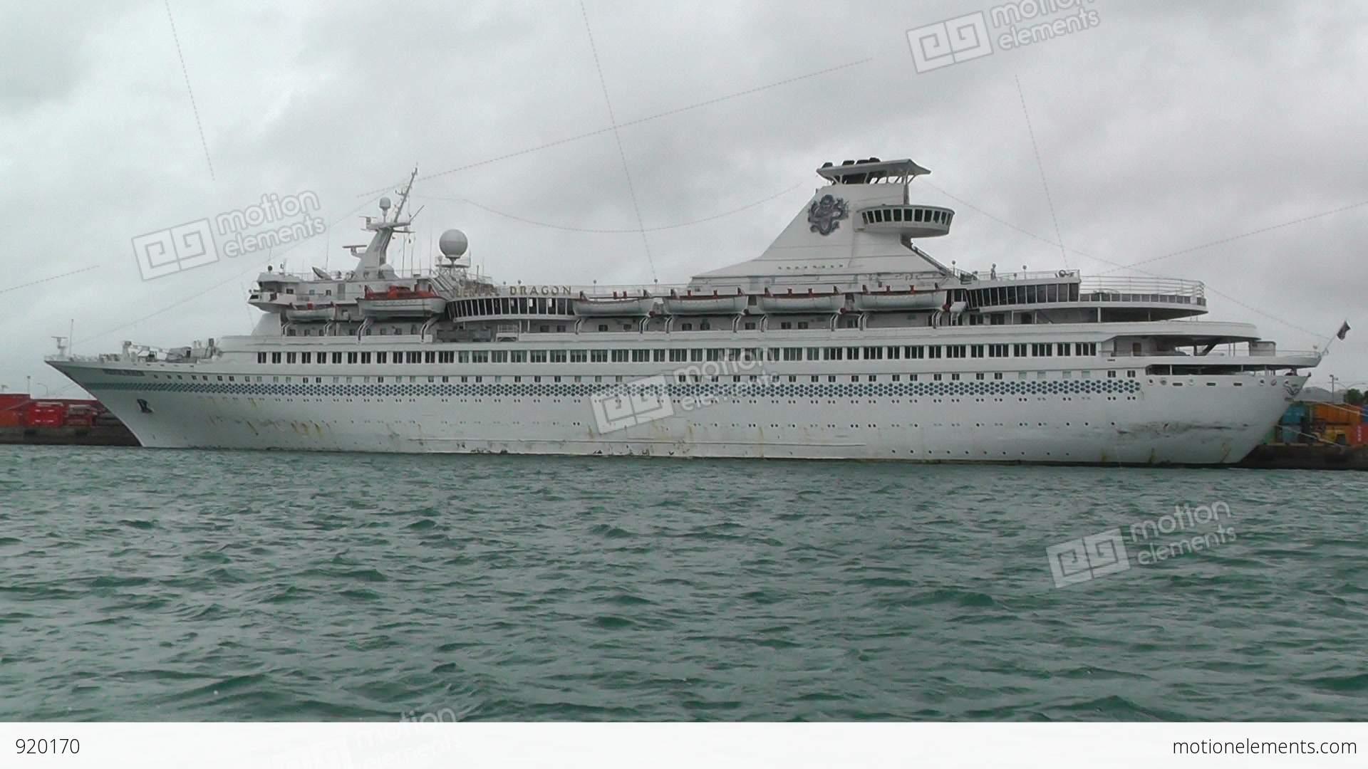 Leaving Port Okinawa Islands Cruise Ship Tracking Shot Fps - Cruise ship location tracker