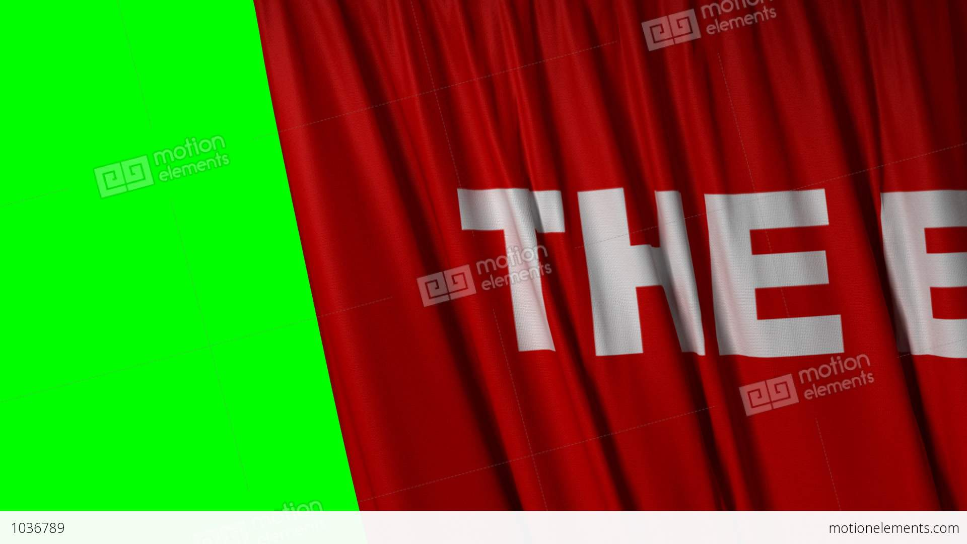 Opening and closing red curtain stock animation royalty free stock - Closing Red Curtain With Title The End Stock Video Footage