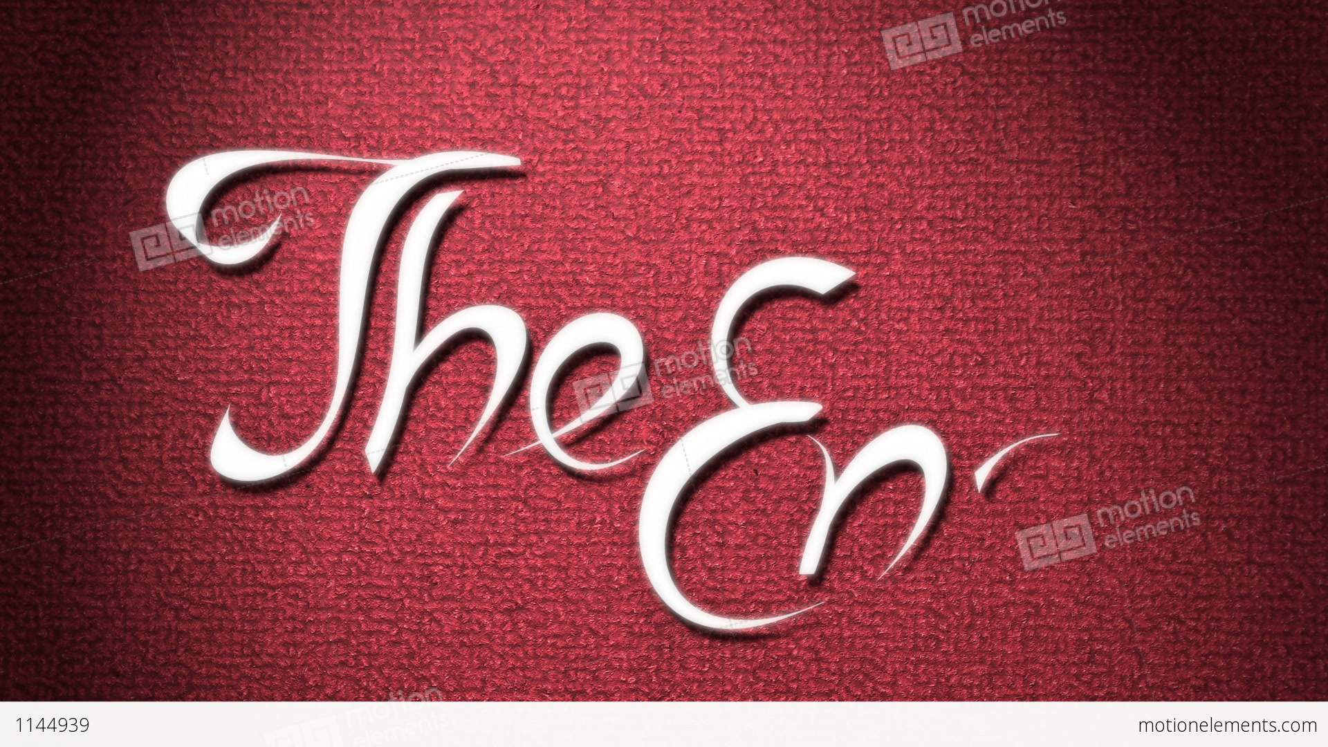 the end stock animation 1144939 free clipart movie night free clipart movie night
