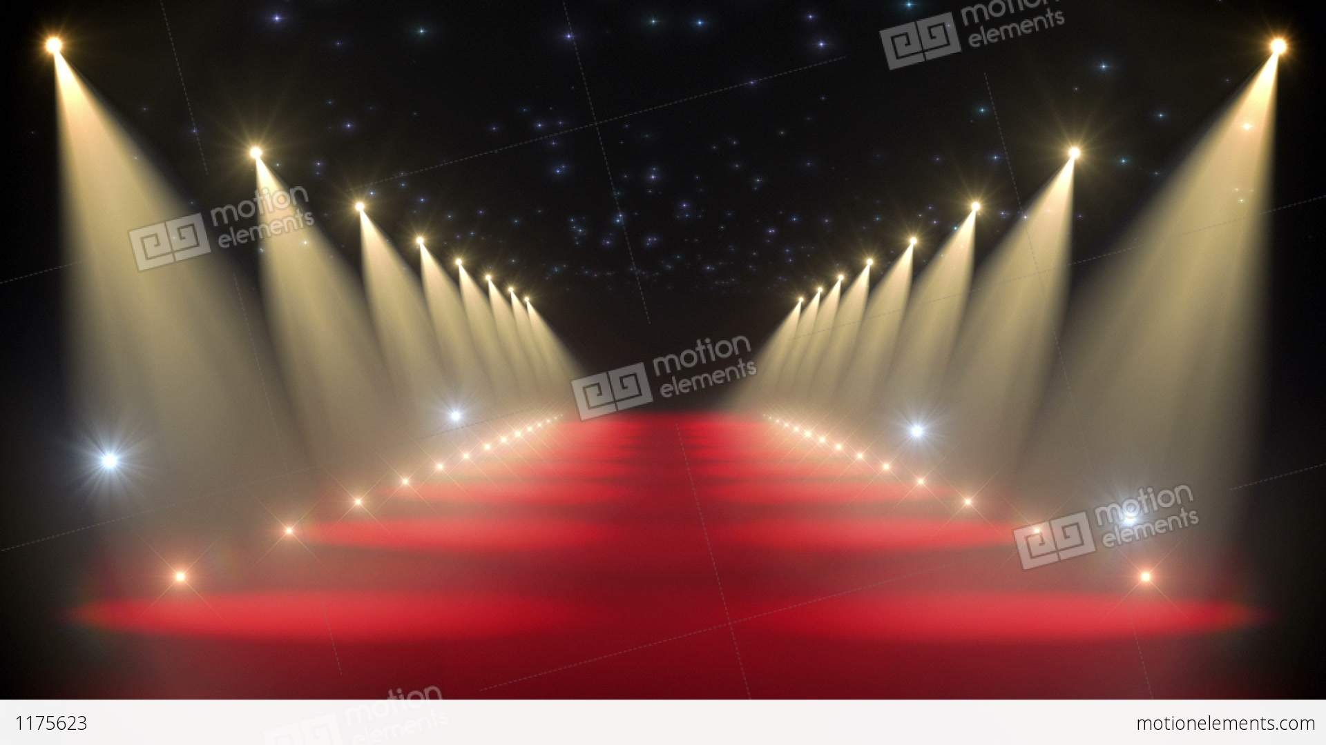Red Carpet Loop Stock Animation 1175623