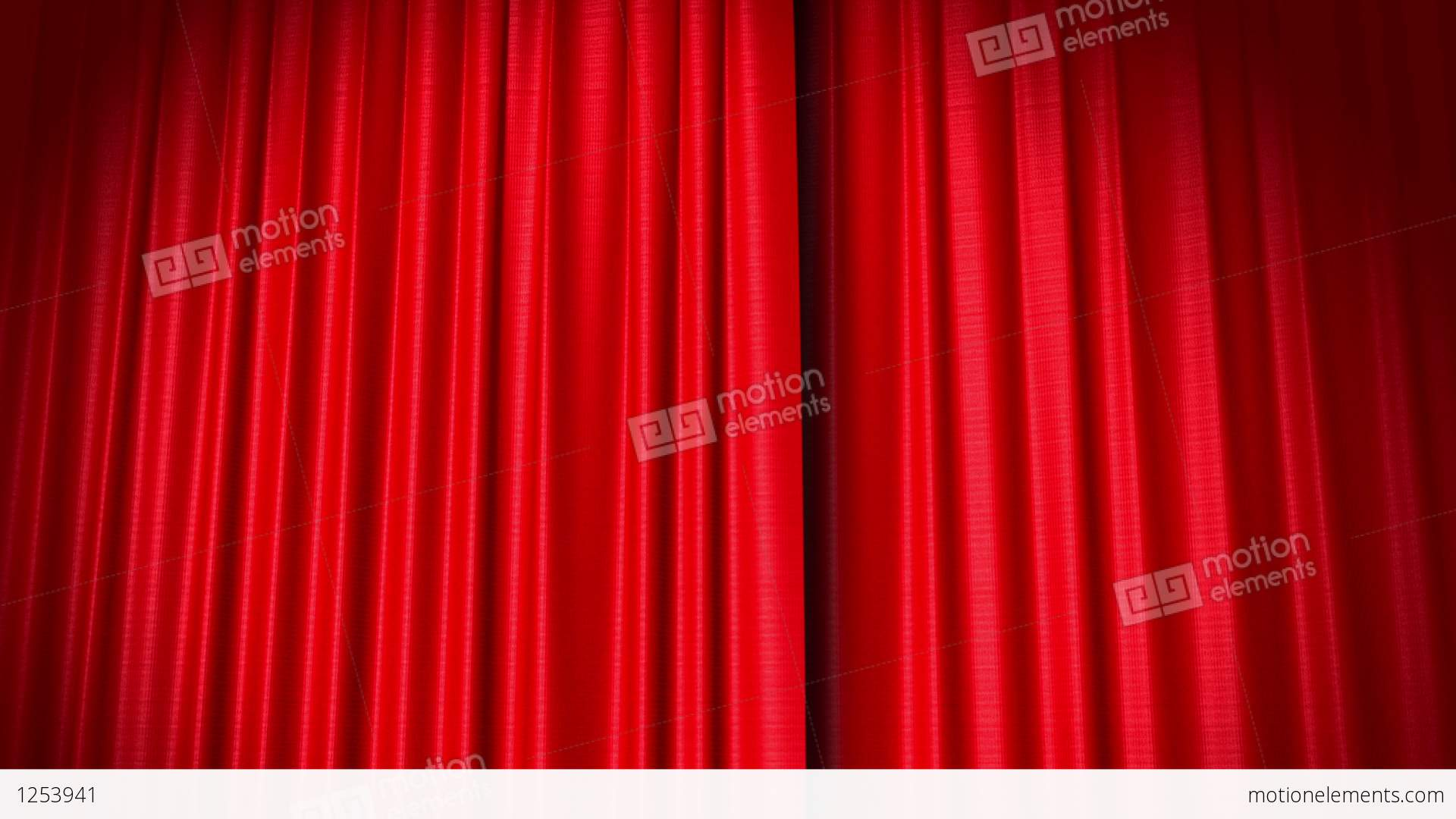 Opening and closing red curtain stock animation royalty free stock - Opening And Closing Red Curtain Stock Animation 1253941