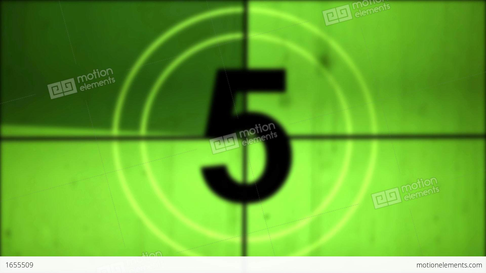 old film countdown leader with sound stock animation 1655509