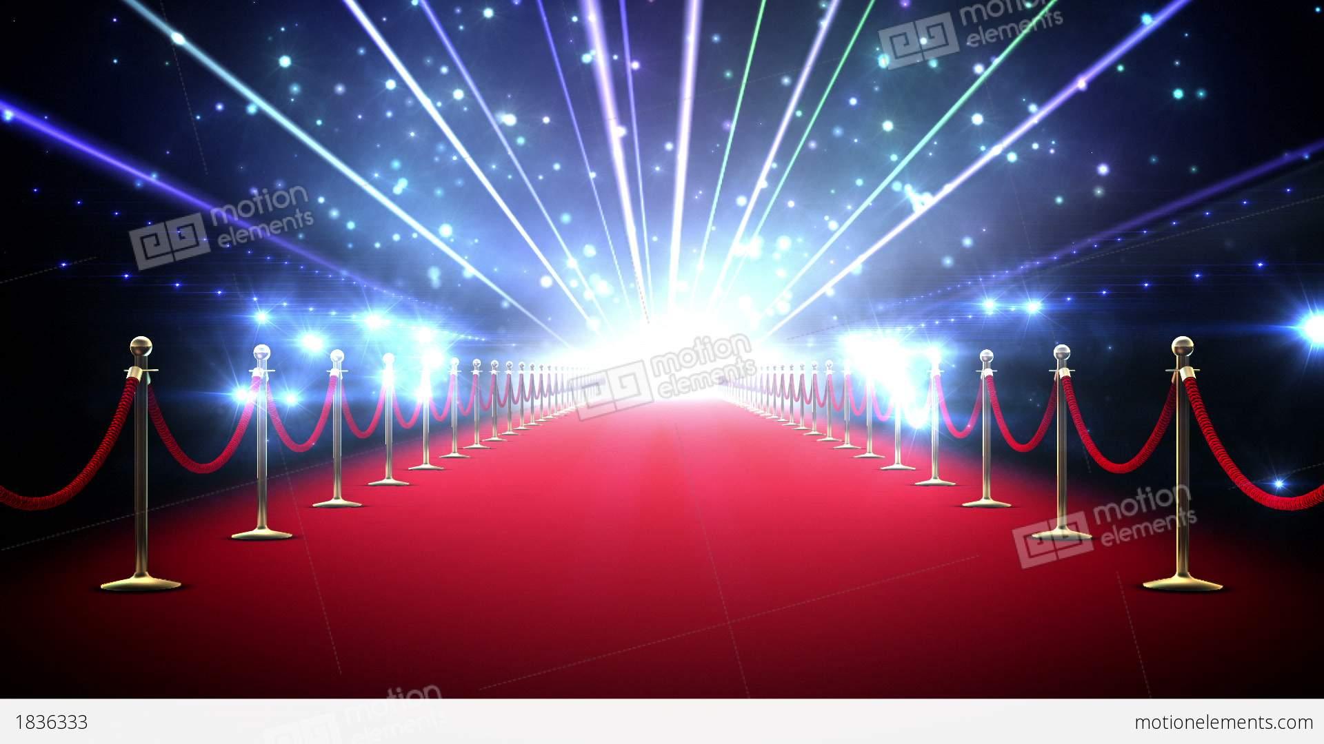 Magic Red Carpet Loop Stock Animation 1836333