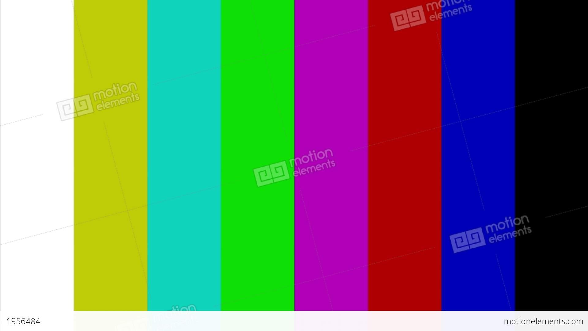 Color Bar Generator : Color bar generator stock video footage