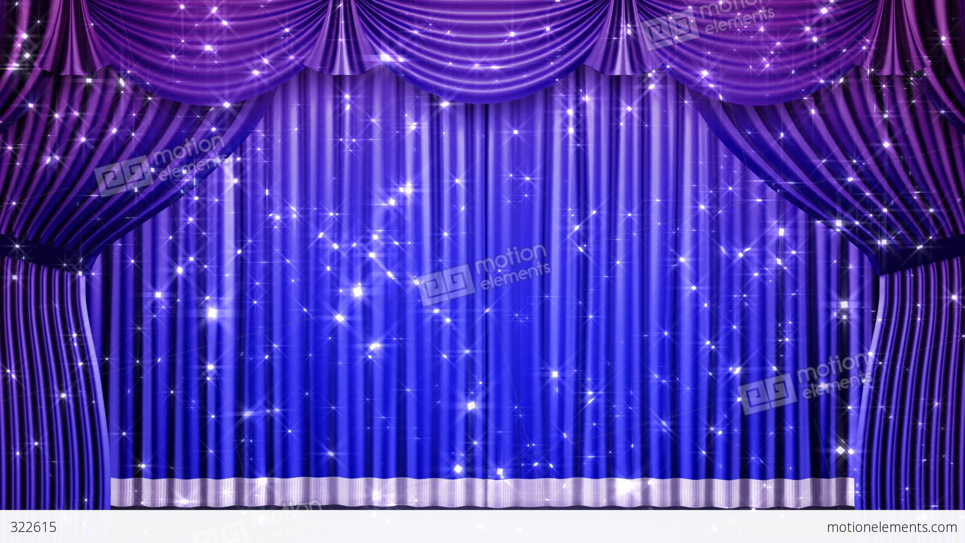 Stage curtains animation - Stage Curtain 2 Fbk1 Stock Video Footage