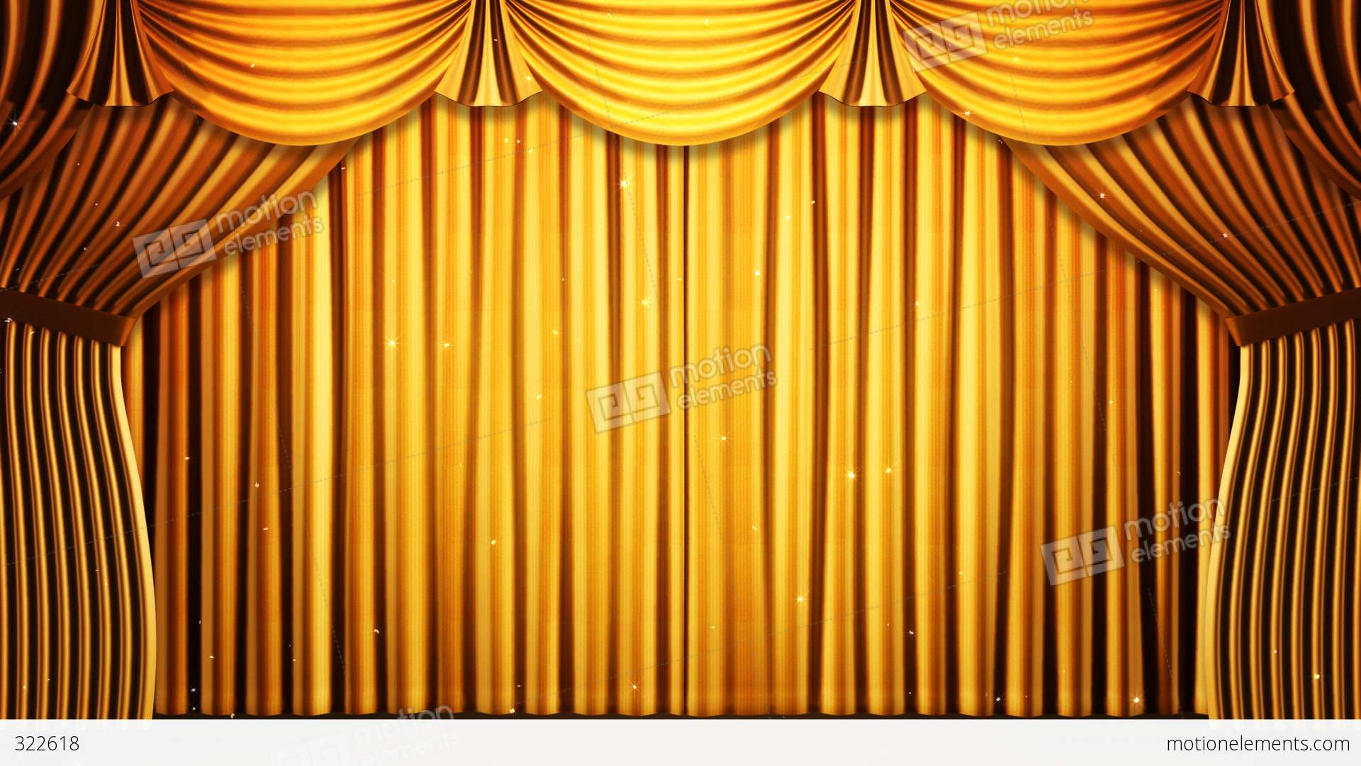 Stage curtains animation - Stage Curtain 2 Fg2 Stock Video Footage