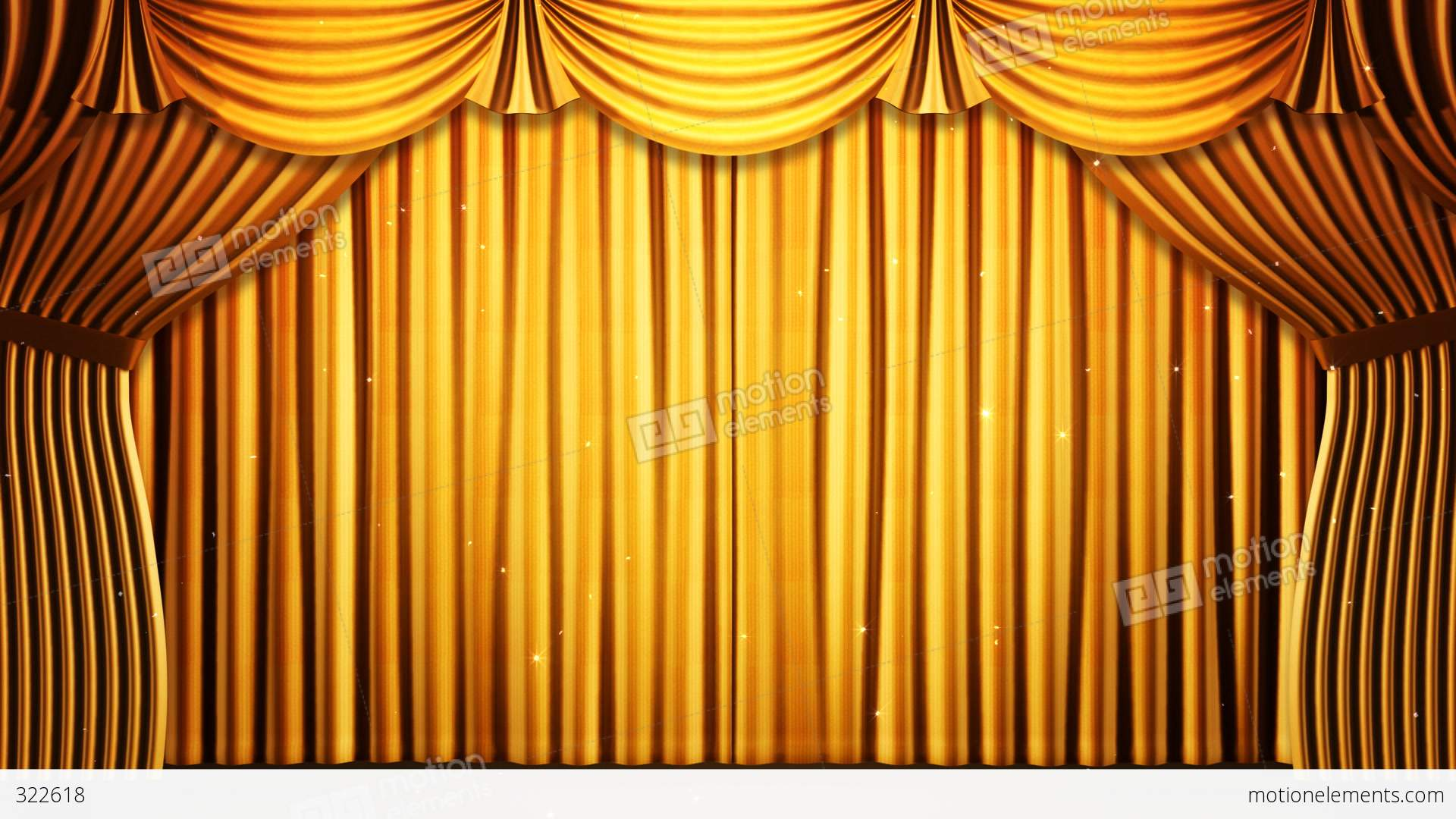 Stage Curtain 2 Fg2 Stock Animation 322618
