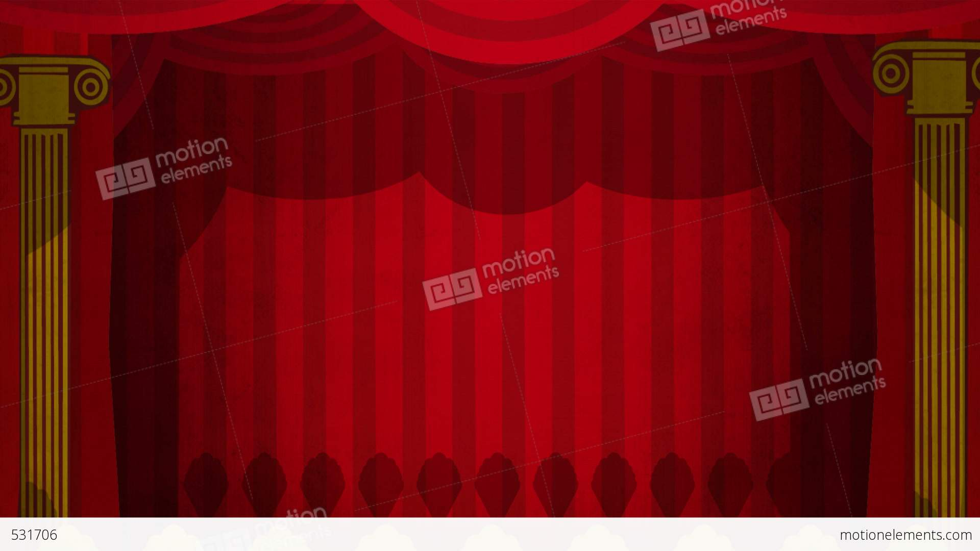 Stage curtains animation - Theatre Curtains Green Screen Hd Stock Video Footage