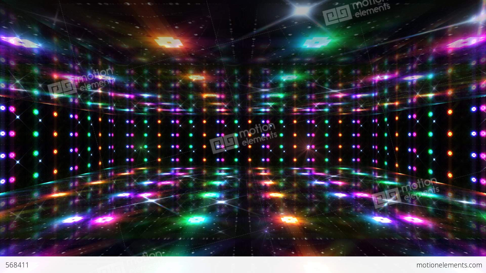 Dance Floor A4 Hd Stock Animation 568411