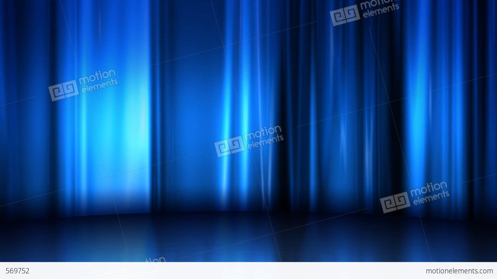 Blue Stage Curtain Background - Curtain stage background curtain stage natural commerce blue silk stock animation royalty free stock animation library 569752