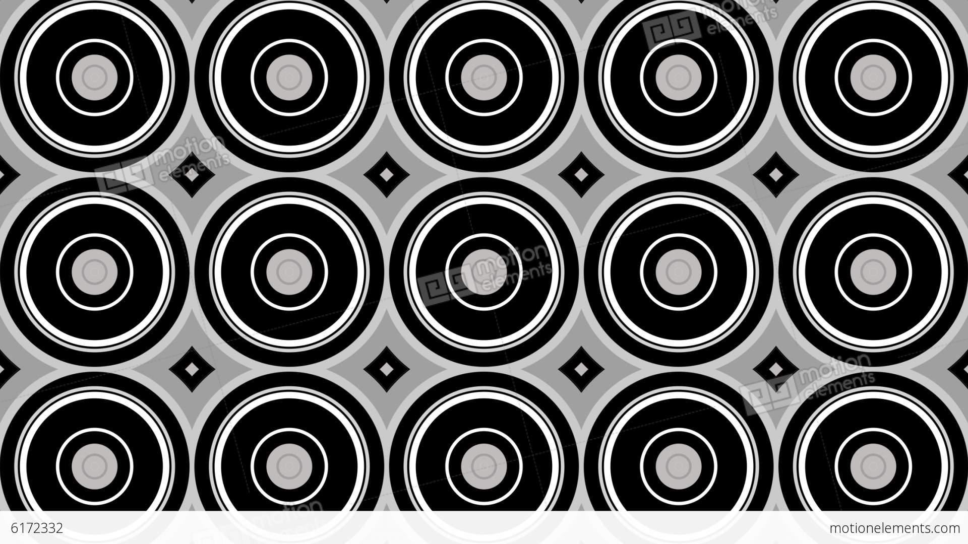 Circle Tiles Waving Circle Tiles Stock Animation 6172332