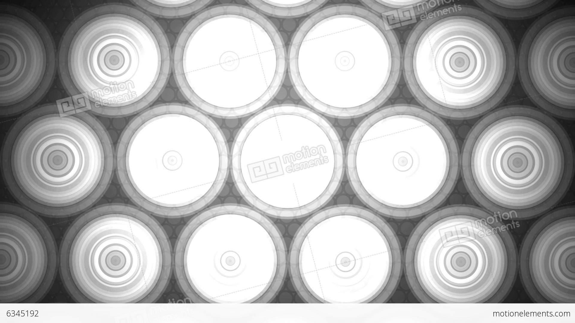 Circle Tiles Grayscale Circle Tiles Stock Animation Royalty Free Stock