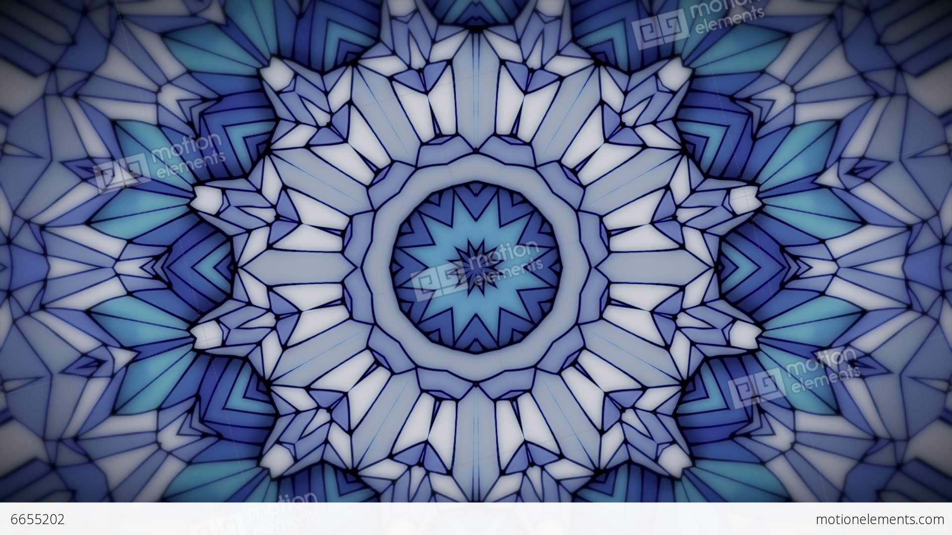 Abstract Animation Kaleidoscope Background Stock Animation
