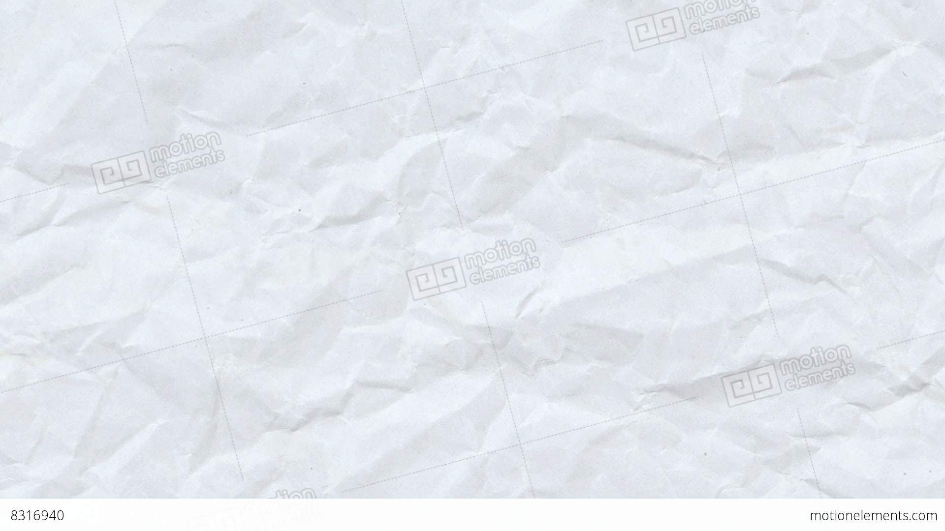 Animated Crinkled Paper Texture Stock Video Footage 8316940