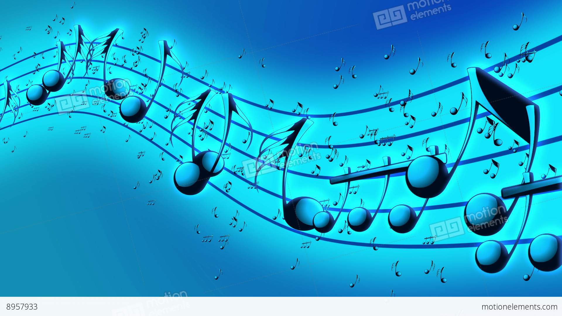 Book Cover Background Music : Animated background with musical notes stock video footage