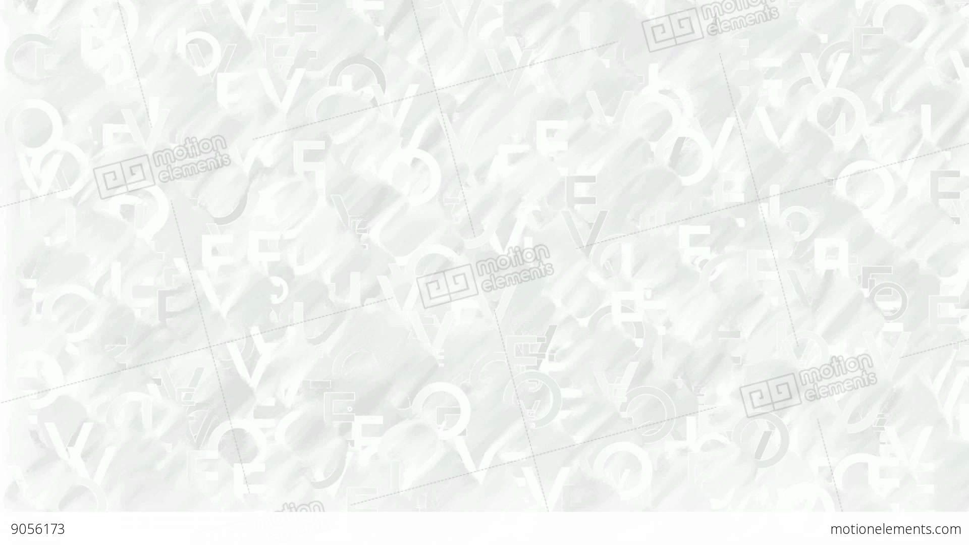 Animated Words Love Plain White Background Stock Animation 9056173