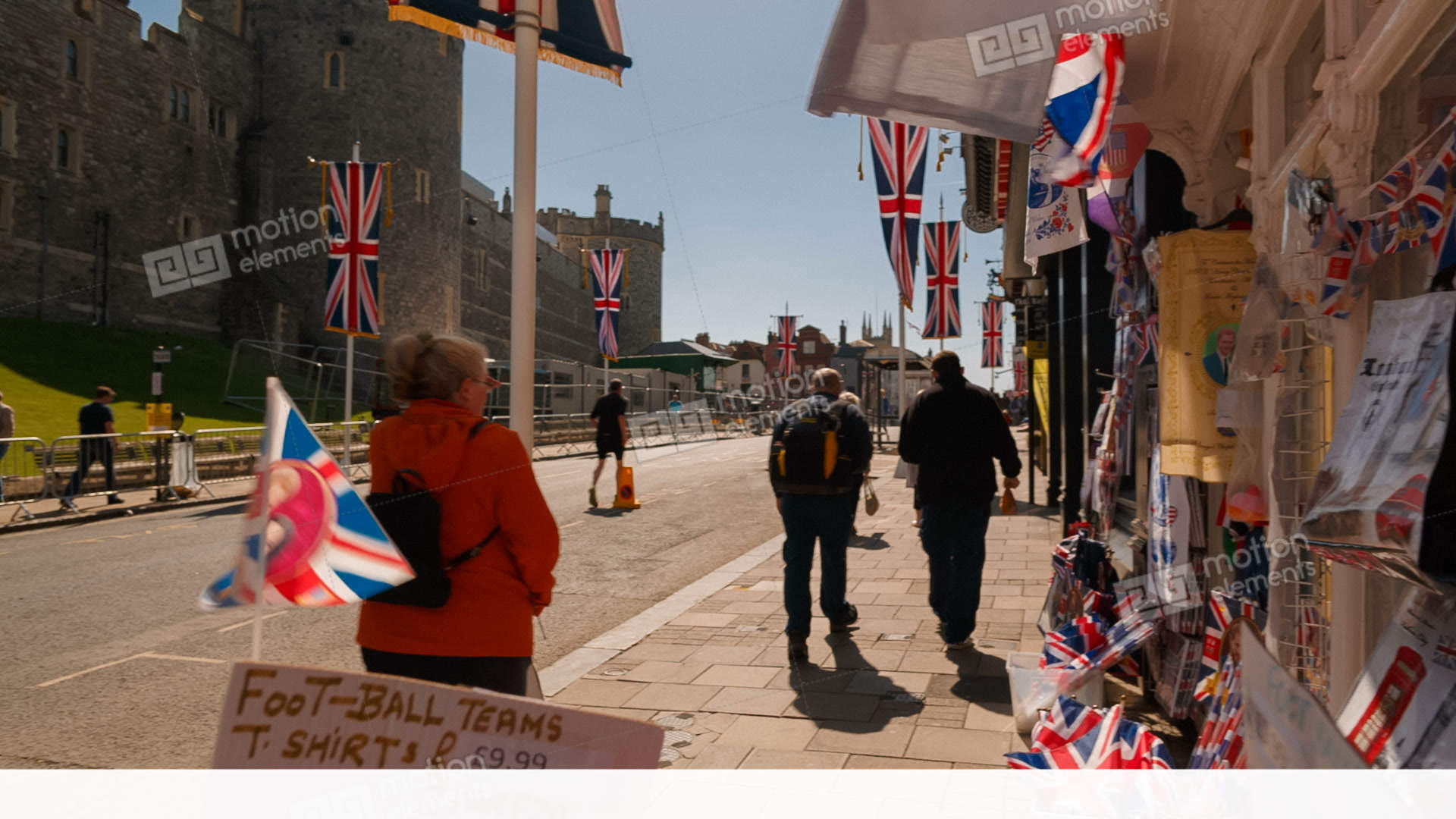 Prince Harry And Meghan Markle Royal Wedding At Windsor Stock Video Footage