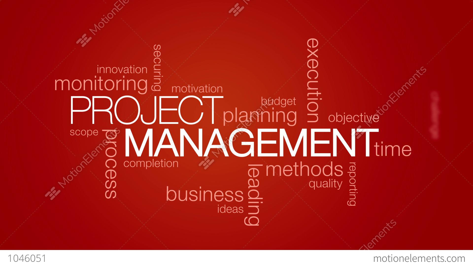 Project Management: Project Management Stock Animation