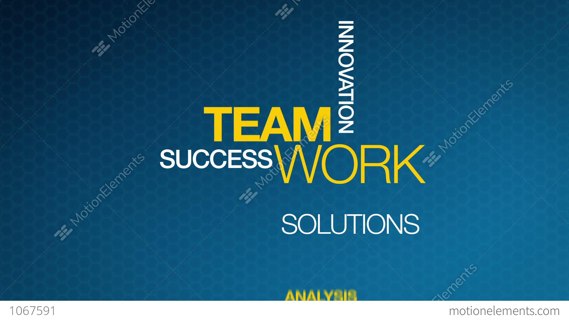teamwork stock animation 1067591