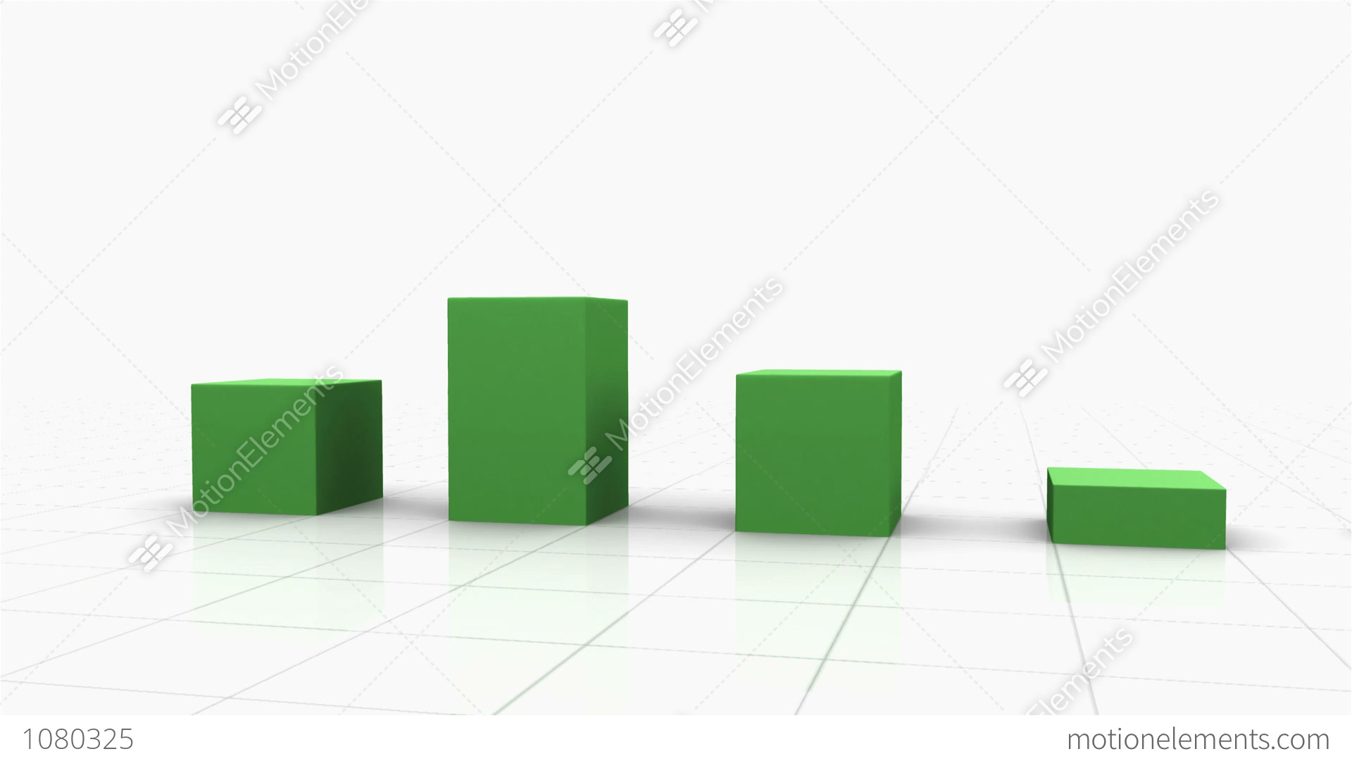 3d growing bar graph stock animation 1080325 3d growing bar graph stock video footage ccuart Images