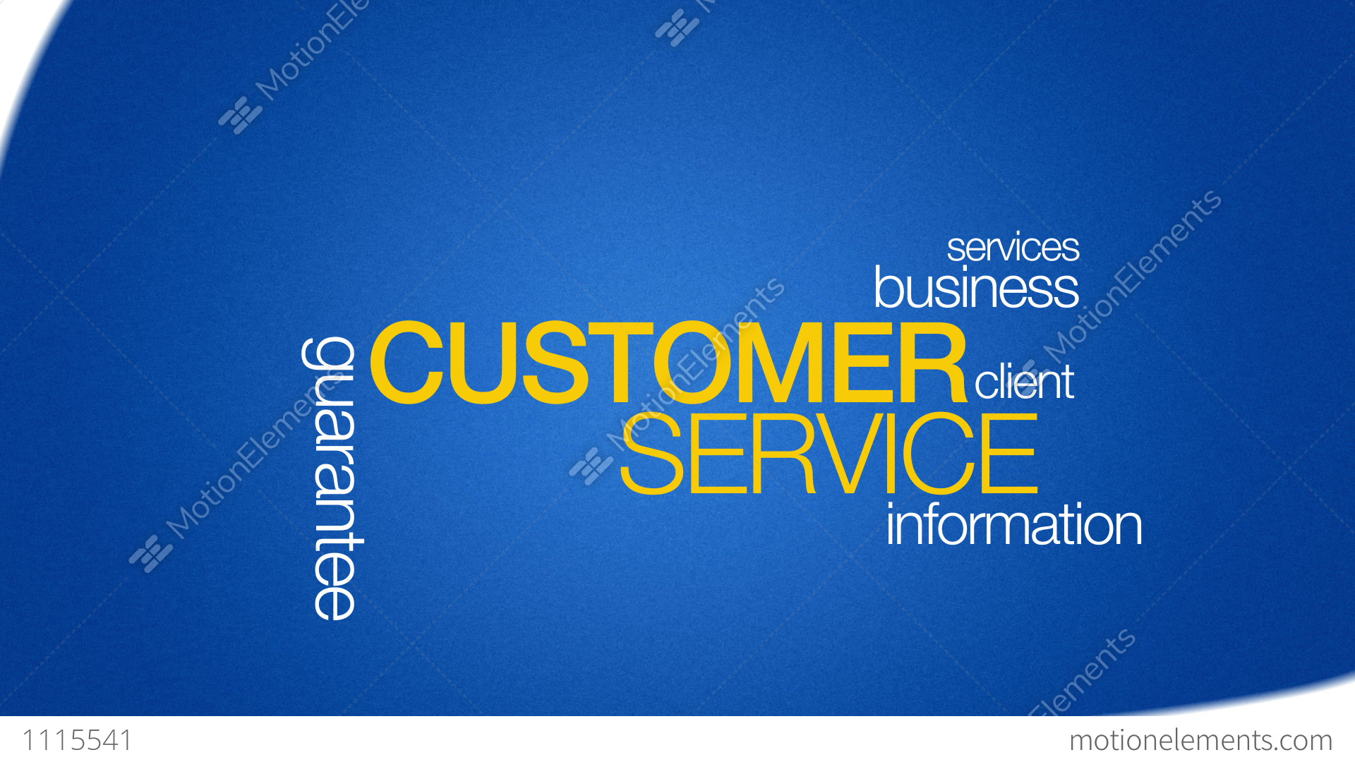 Customer Service Stock Animation 1115541