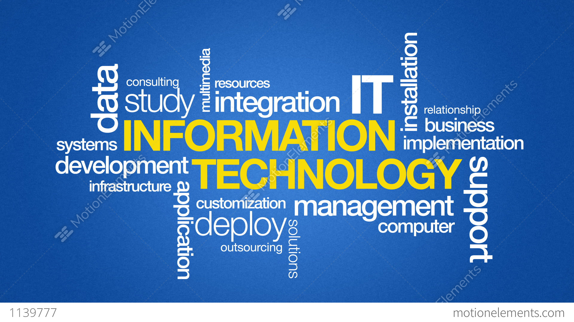 information technology in business Information technology strategic plan will continue to serve as a roadmap for technology  thoughtful business processes to be accountable in our.