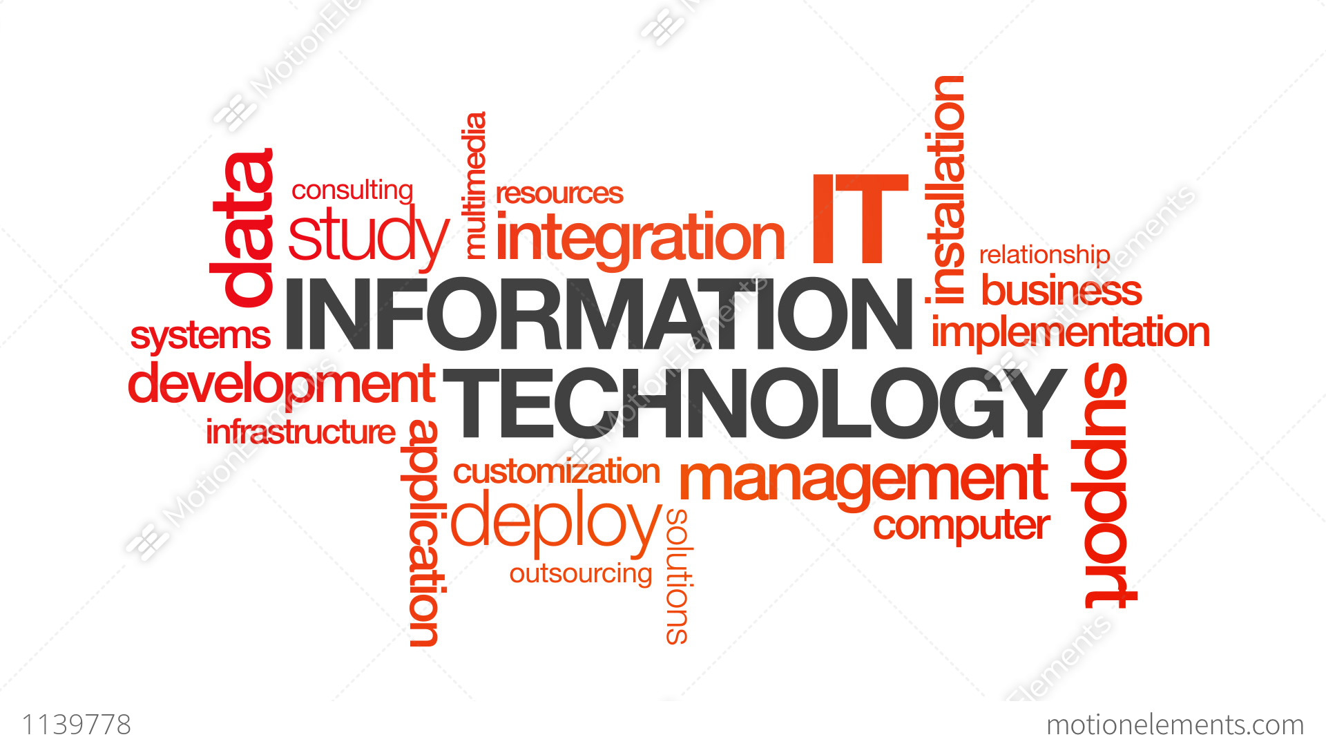 information technology in business Effective information management is not easy including a need to improve the efficiency of business in terms of technology, information management.