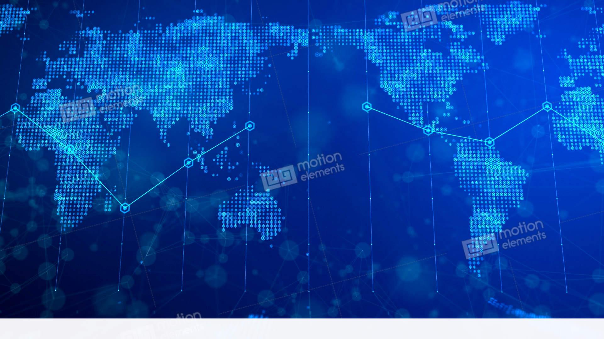 Digital world map background 02 stock animation 11465591 digital world map background 02 stock video footage gumiabroncs Images