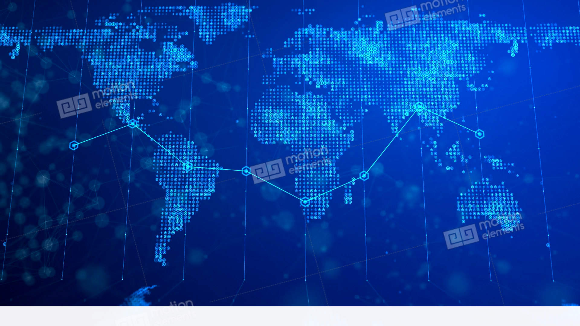 Digital world map background 02 stock animation 11465591 digital world map background 02 stock video footage gumiabroncs Choice Image