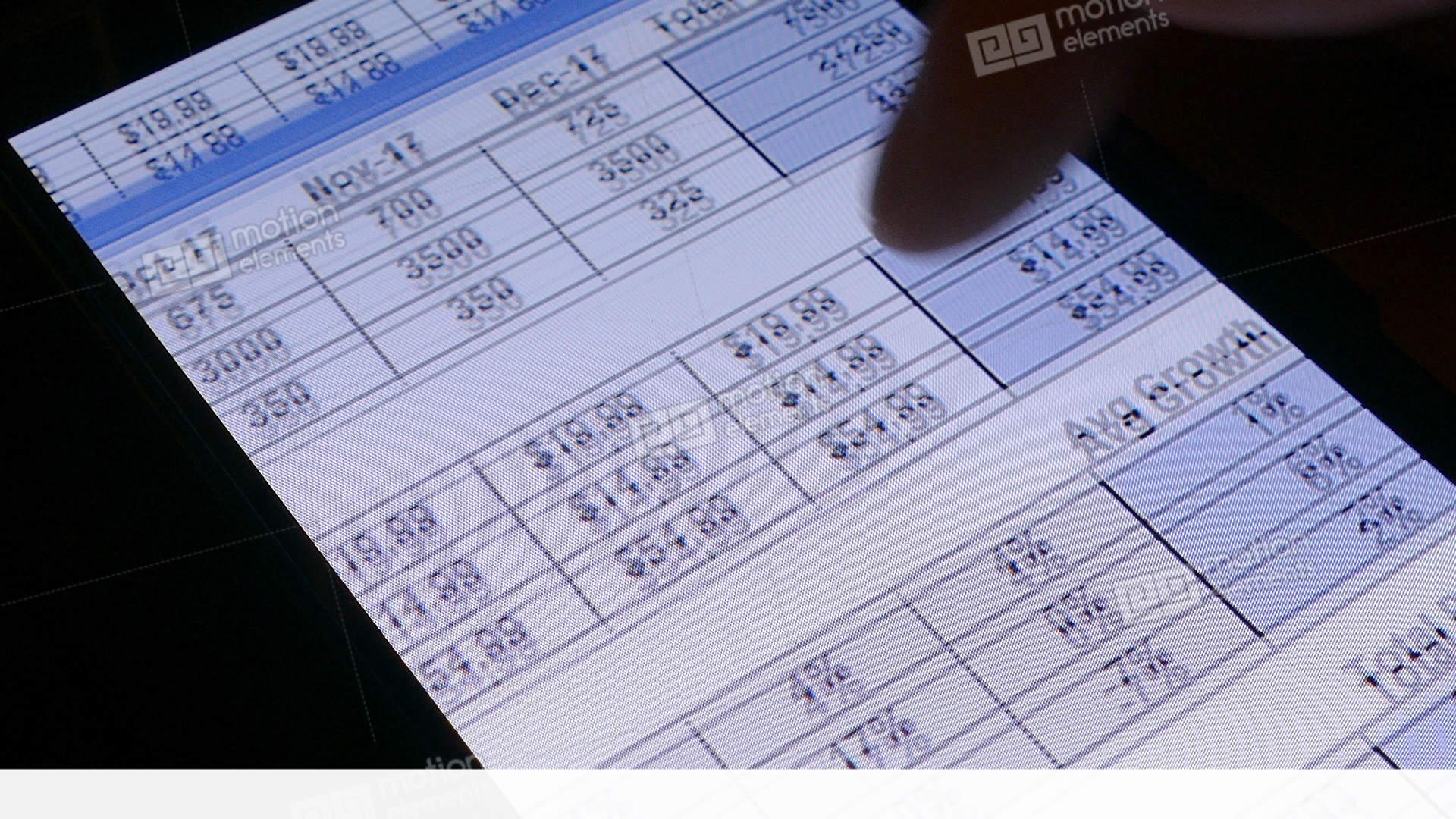 Financial Status Reports