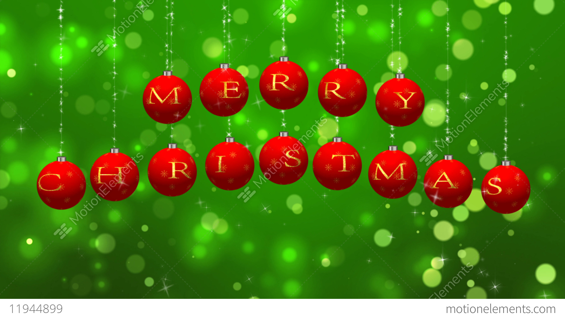 merry christmas wishes on green particles background stock video footage - Christmas Wishes Video