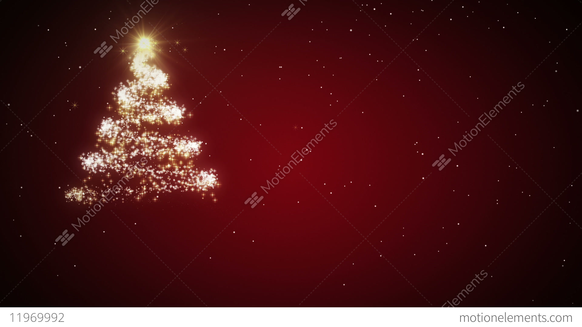 Christmas Card With Greestings Stock Animation | 11969992
